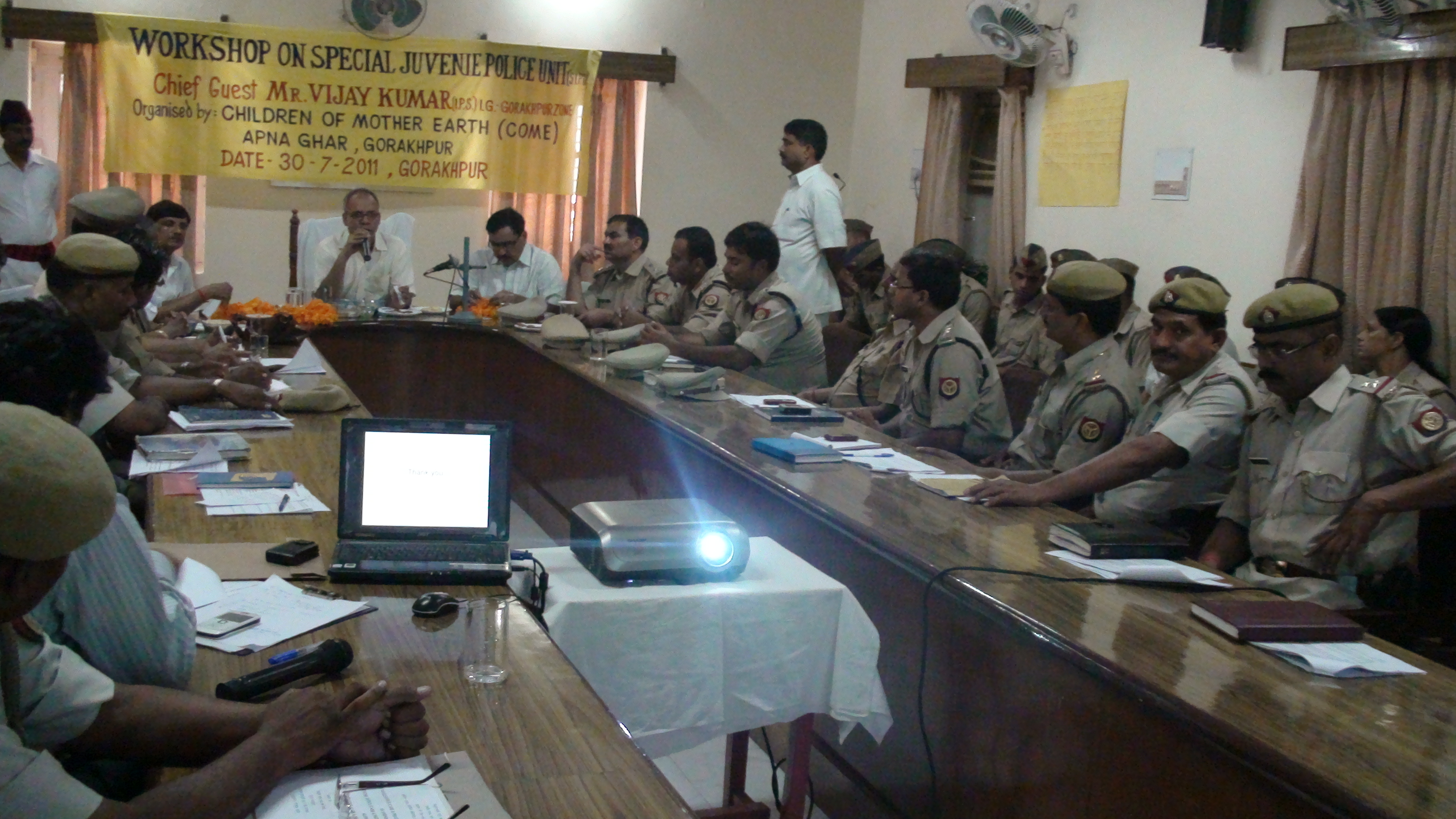 Photo of a Child Rights Workshop given by CoME