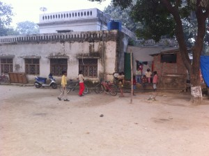 Photo of large playing area at our Lucknow Home